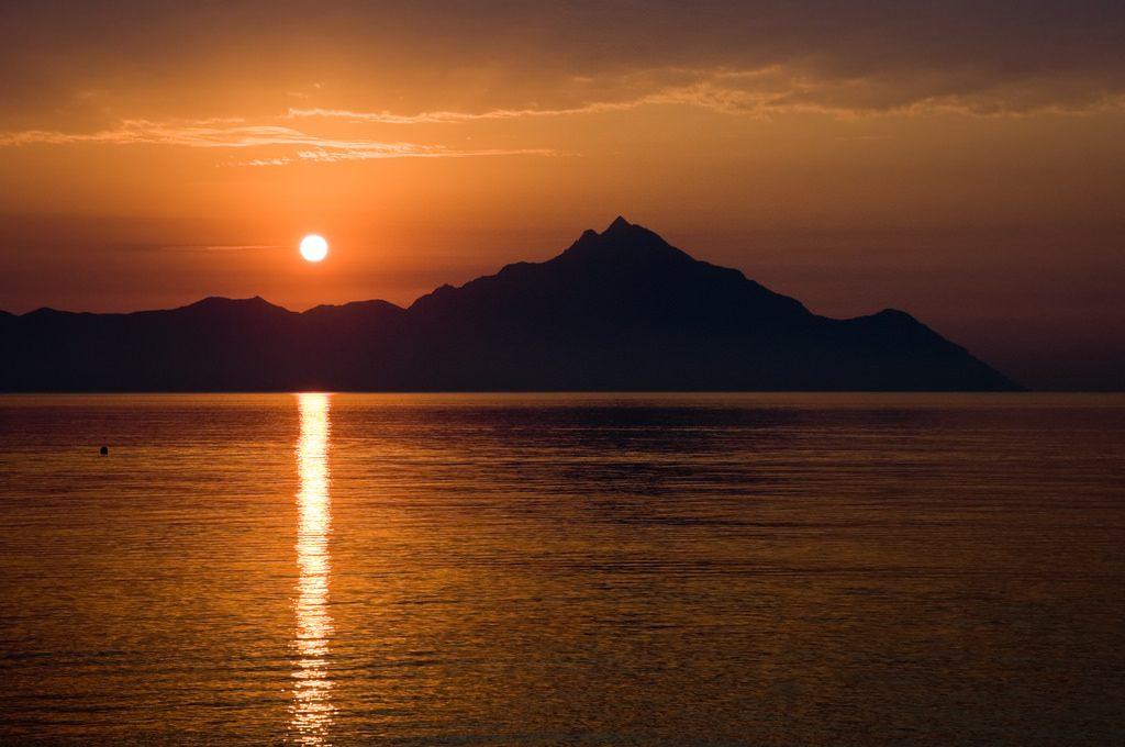 Mount Athos Sunrise
